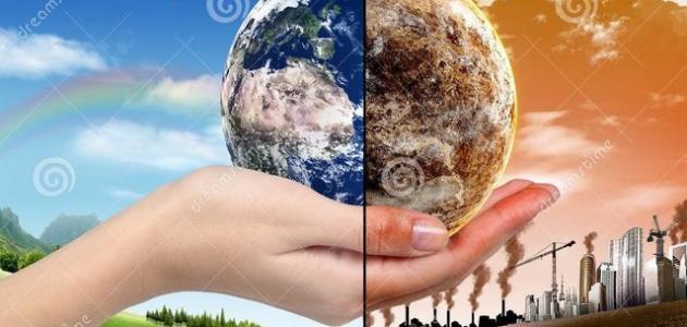 المشكلة البيئية وتأثيرها فى العالم